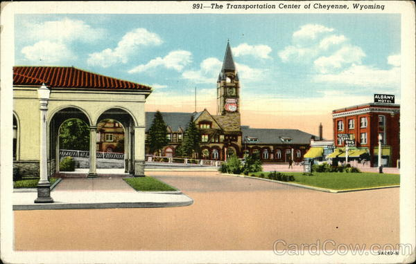 The Transportation Center of Cheyenne, Wyoming Buses