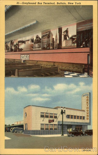 Greyhound Bus Terminal Buffalo New York Buses