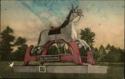 Rocking Horse - an Old Landmark, Toy Town Tavern