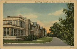 East Wing, Pennsylvania State Sanatorium