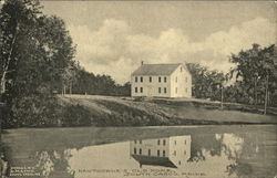 Hawthorne's Old Home Postcard