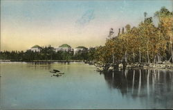 Rangeley Lake Hotel from Lake Forest