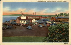 Public Landing and Yacht Club