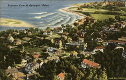 Airplane View of Ogunquit, Maine