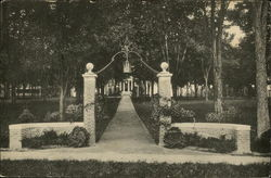 Bates College - Class of 1929 Gate to Hathorn Hall