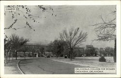 Oklahoma College for Women Postcard