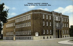 Temple Baptist Church, Gallia at Waller St