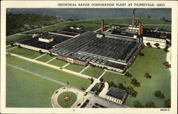 Industrial Rayon Corporation Plant at Painseville, Ohio
