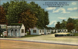 Burnett's Motel Postcard