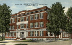 Administration Bldg. Kirksville College of Osteopathy and Surgery
