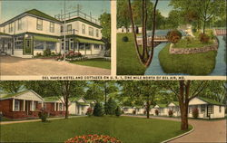 Del Haven Hotel and Cottages Postcard