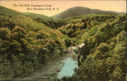 The Old Mill, Popolopen Creek, Bear Mountain Park, NY Postcard
