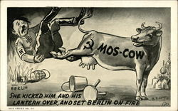 She Kicked Him and His Lantern Over, and Set Berlin on Fire, Mos-Cow
