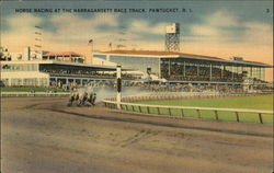 Horse Racing at the Narrangansett Race Track