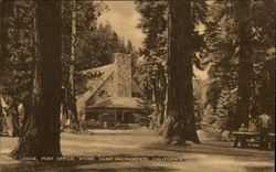 Lodge, Post Office, Store, Camp Sacramento