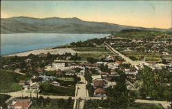 View of Town and Lake Elsinore