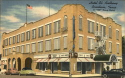 Hotel St. Anthony Postcard