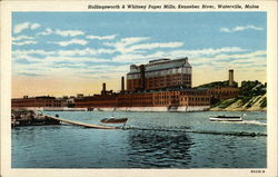 Hollingsworth & Whitney Paper Mills, Kennebec River