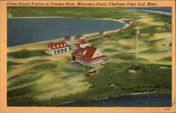 Coast Guard Station at Powder Hole, Monomoy Point
