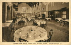 Grand Lodge Hall, Masonic Homes - Dining Room