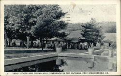 Trout Pools and Dining Hall, Pinebrook in the Poconos