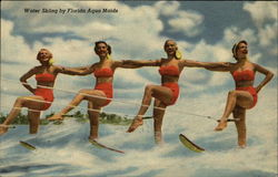 Water Skiing by Florida Aqua Maids