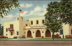 Federal Building Postcard