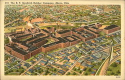 The BF Goodrich Rubber Company, Akron, Ohio