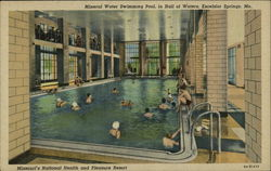 Mineral Water Swimming Pool in Hall of Waters