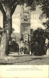 College Hall and Grecourt Gates, Smith College