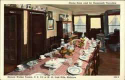 Walker Tavern - Pioneer Dining Room