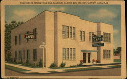 Robersons Rendezvous and Missouri Pacific Bus Station, Searcy, Arkansas