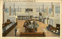 Greyhound Bus Terminal - Waiting Room