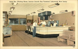Lincoln Bus Terminal - Soda Bar and Waiting Room