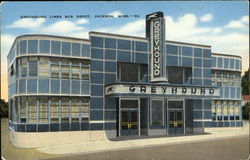 Greyhound Lines Bus Depot