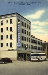 Greyhound Bus Depot and Hotel Knox