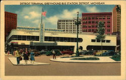Detroit Terminal Greyhound Bus Station
