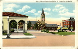 The Transportation Center of Cheyenne, Wyoming