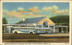 Gateway Restaurant, Greyhound Post House, Lincoln Highway