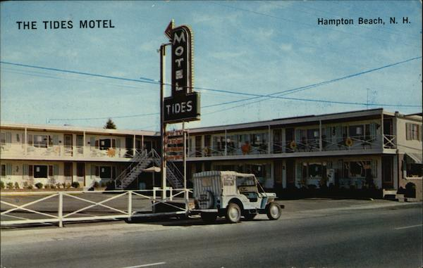 The Tides Motel Hampton Beach New Hampshire