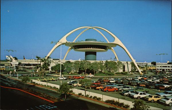 Los Angeles International Building - Theme Building California
