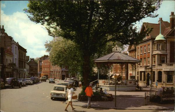Carfax and the Bandstand Horsham United Kingdom Sussex