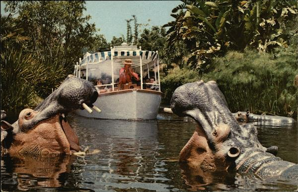Jungle Cruise - Adventureland Disney