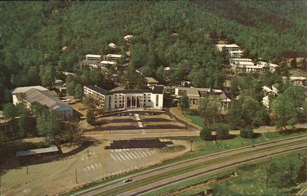 Aerial View Ridgecrest Baptist Conference Center North Carolina
