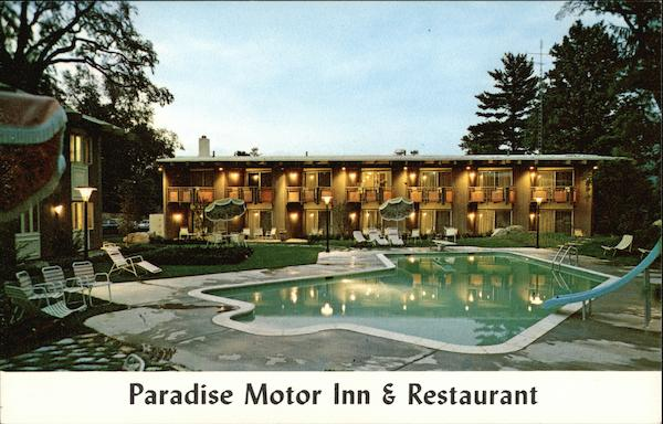 paradise motor inn and restaurant burlington vt