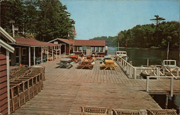 Herb Witham's Lobster Pier Kittery Point Maine