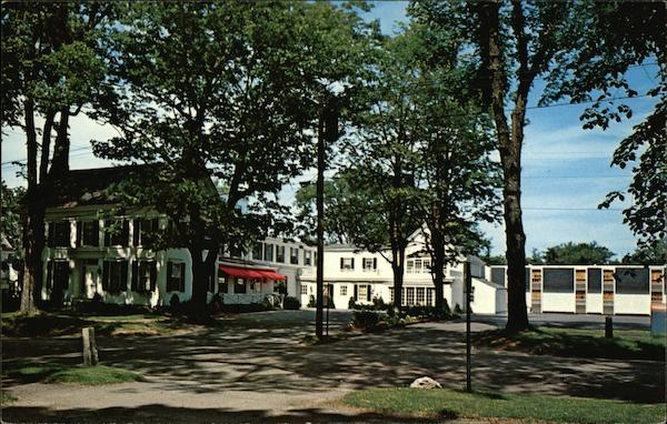 The Stowe House and Motor Inn Brunswick Maine