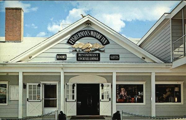 Fishermans Wharf Inn - Front Facade and Main Entrance