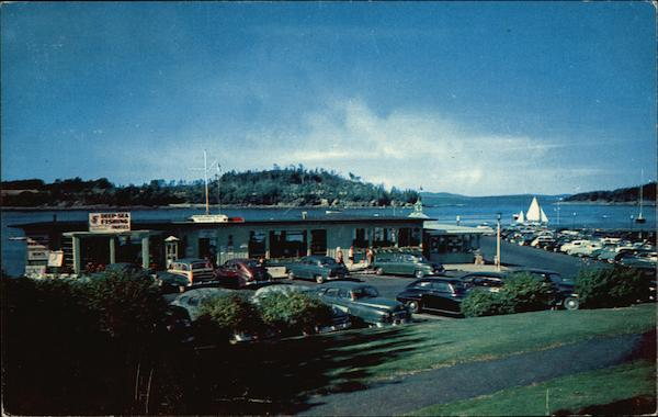 Frenchmans Bay Boating Co. and Municipal Pier Bar Harbor Maine