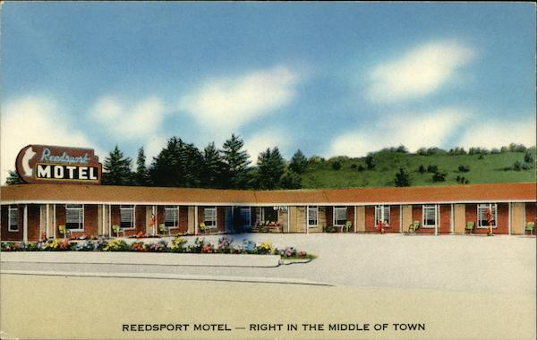 Reedsport Motel Oregon